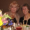 Fay Vrana and Marsha Townsend were at the party. (Photo by Helen Ford Wallace).