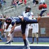 Photo - Derrick Jones (19) breaks up a pass to Laquon Treadwell during Mississippi's Grove Bowl controlled football scrimmage at Vaught-Hemingway Stadium in Oxford, Miss., Saturday, April 5, 2014. (AP Photo/Oxford Eagle, Bruce Newman) MAGAZINES OUT; NO SALES; MANDATORY CREDIT