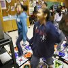 Fifth grade student Kali Wiggins, center, leads the way as her class takes part in a Dance Dance Revolution program to help students lose weight and fight obesity at Coolidge Elementary on Tuesday, Feb. 5, 2008, in Oklahoma City, Okla. BY CHRIS LANDSBERGER, THE OKLAHOMAN