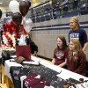 Athletes from Edmond North High School signed national letters of intent with colleges and universities during a ceremony in the school\'s gymnasium Wednesday morning, Nov. 13, 2013. Various sports include golf, softball, wrestling, lacrosse and others. Photo by Jim Beckel, The Oklahoman