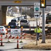 Crews begin the road work at the Memorial Road and Pennsylvania Avenue intersection on Wednesday, Feb. 6, 2008, in Oklahoma City, Okla. BY CHRIS LANDSBERGER, THE OKLAHOMAN