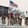 A group of bicyclists crosses first as city and state officials gather to formally open the Rock Creek Bridge over Interstate 35 on Tuesday, August 30, 2011, in Norman, Okla. Photo by Steve Sisney, The Oklahoman