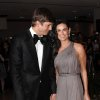 Actor Ashton Kutcher and actress Demi Moore, right, attend the 2009 White House Correspondent\'s Dinner at the Washington Hilton, Saturday, May 9, 2009, in Washington. (AP Photo/Evan Agostini) ORG XMIT: DCEA121