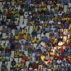 Photo - Seats are unoccupied during the group D World Cup soccer match between Uruguay and Costa Rica at the Arena Castelao in Fortaleza, Brazil, Saturday, June 14, 2014.  (AP Photo/Sergei Grits)