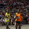 Oklahoma State distance runner Shadrack Kipchirchir ran alongside Oregon's Ed Cheserek in the 10,000 meters at NCAA regionals. It was a sign of things to come. The standouts dueled again at the NCAA Track and Field Championships with Cheserek outkicking Kipchirchir by two seconds. - Clay Billman, OSU Athletics