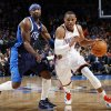 Oklahoma City\'s Russell Westbrook (0) drives the ball past Jason Terry (31) of Dallas in the first half of an NBA basketball game between the Oklahoma City Thunder and the Dallas Mavericks at Chesapeake Energy Arena in Oklahoma City, Thursday, Dec. 29, 2011. Photo by Nate Billings, The Oklahoman