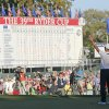 Europe\'s Martin Kaymer celebrates after winning the Ryder Cup PGA golf tournament Sunday, Sept. 30, 2012, at the Medinah Country Club in Medinah, Ill. (AP Photo/Charles Rex Arbogast) ORG XMIT: PGA201