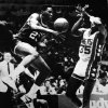 Former OU basketball player Wayman Tisdale. Indiana\'s Wayman Tisdale steals a pass meant for New York\'s Tony Brown (35). (AP LaserPhoto) Photo taken unknown, photo published 11/14/1986 in The Daily Oklahoman. ORG XMIT: KOD