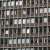 Shattered windows of a major building after an explosion in Oslo, Norway, Friday July 22, 2011. A loud explosion shattered windows Friday at the government headquarters in Oslo which includes the prime minister\'s office, injuring several people. Prime Minister Jens Stoltenberg is safe, government spokeswoman Camilla Ryste told The Associated Press. (AP PHOTO / Berit Roald, Scanpix) NORWAY OUT ORG XMIT: LON815