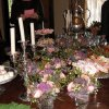SUGAR AND SPICE...Beautiful table. (Photo by Helen Ford Wallace).