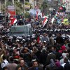 a cordon of riot police separates ppponents of Egyptian President Mohammed Morsi and Islamist supporters of the president in Alexandria, Egypt, Friday, Dec. 21, 2012. Thousands of Islamists clashed with their opponents Friday in Egypt\'s second largest city, Alexandria, on the eve of the second leg of voting on the country\'s contentious constitution that has deeply polarized the nation.(AP Photo/Ahmed Ramadan)