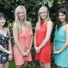 Left to Right, Kristin Dahlgren, Meridith Harris, Hannah Tubbs and Sarah Turpen in Nichols Hills, Oklahoma , Wednesday, May 25, 2011. Photo by Steve Gooch