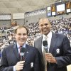 Photo - Clark Kellogg, right, has joined Jim Nantz on CBS' lead broadcast team for the NCAA men's basketball tournament. PHOTO PROVIDED