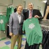 Photo -  Co-owners Tim McLaughlin and Bob Funk Jr. show their Energy FC store at 1001 N Broadway in Oklahoma City on Friday. Photos by Paul B. Southerland, The Oklahoman  <strong>PAUL B. SOUTHERLAND -   </strong>