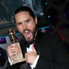 "IMAGE DISTRIBUTED FOR FOCUS FEATURES - Jared Leto with the award for best supporting actor in a motion picture for ""Dallas Buyers Club"" at the 71st Annual Golden Globe Awards – NBC/Universal/Focus Features/E! Entertainment/Chrysler After Party on Sunday, Jan. 12, 2014 in Los Angeles. (Photo by Alexandra Wyman/Invision for Focus Features/AP Images)"