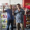 """Photo -  BURN NOTICE -- """"Reckoning"""" Episode 713 --Pictured: (l-r) Coby Bell as Jesse Porter, Bruce Campbell as Sam Axe -- (Photo by Glenn Watson/USA Network)"""