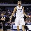 Dallas Mavericks\' Dirk Nowitzki (41), of Germany, shouts at an official looking for a foul call in the second half of an NBA basketball game against the Los Angeles Lakers, Sunday, Feb. 24, 2013, in Dallas. Nowitzki was charged with a technical foul for the outburst. The Lakers won 103-99. (AP Photo/Tony Gutierrez)