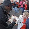 Heidi Wilburn reacts as she gets an autograph from Justin Blackmon in the \'Spirit Walk\' before the Bedlam college football game between the Oklahoma State University Cowboys (OSU) and the University of Oklahoma Sooners (OU) at Boone Pickens Stadium in Stillwater, Okla., Saturday, Dec. 3, 2011. Photo by Chris Landsberger, The Oklahoman