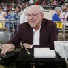 Sound man Charlie Heatly works the music board during the semifinals of the Class B girls Oklahoma State Basketball Championships at the State Fair Arena on Friday, March 6, 2009, in Oklahoma City, Okla. PHOTO BY CHRIS LANDSBERGER