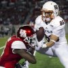 Photo - UTSA wide receiver Seth Grubb (86) beats Houston defensive back William Jackson (3) for a 29-yard reception during the second quarter of an NCAA college football game Friday, Aug. 29, 2014, in Houston. (AP Photo/Houston Chronicle, Brett Coomer) MANDATORY CREDIT