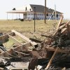 Rubble still lines the streets in Lone Grove on Tuesday. Photo By David McDaniel, The Oklahoman