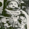 FILE - This Feb. 20, 1962 file photo made available by NASA shows astronaut John Glenn during his space flight in the Friendship 7 Mercury spacecraft, weightless and traveling at 17,500 mph. The image was made by an automatic sequence motion picture camera. Glenn plans to mark the 50th anniversary of his historic spaceflight, Monday, Feb. 20, 2012, with a series of events at Ohio State University, including a special dinner and a live chat with crew members aboard the International Space Station. (AP Photo/NASA, File)