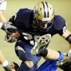 Southmoore\'s Andrew Long (26) carries against Sapulpa in high school football at Moore High School field on Thursday, Sept. 30, 2010, in Norman, Okla. Photo by Steve Sisney, The Oklahoman