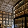 ADVANCE FOR SUNDAY MARCH 3 - This 2012 photo provided by the Beinecke Digital Studio shows the interior of the Beinecke Rare Book & Manuscript Library of Yale University in New Haven, Conn. Yale reports that photos of its famous architecture - like ones of this library which Sina Weibo retweeted - are popular and deserve credit for at least some of the Yale account\'s rapid growth. (AP Photo/Beinecke Digital Studio, David D. Driscoll)