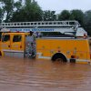 Norman Fire truck stranded in high water Community Photo By: John White Submitted By: John, Oklahoma City