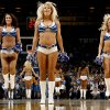 The Thunder Girls dance team performs during the NBA basketball game between the Oklahoma City Thunder and the Los Angeles at the Oklahoma City Arena, Wednesday, April 6, 2011. Photo by Bryan Terry, The Oklahoman