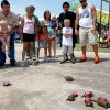 People watch the turtle races during the Blackberry Festival in McLoud, Okla., Saturday, July 7, 2012. Photo by Sarah Phipps, The Oklahoman