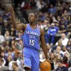 Oklahoma City\'s Reggie Jackson (15) calls a play during the pre season NBA game between the Dallas Mavericks and the Oklahoma City Thunder at the American Airlines Center in Dallas, Sunday, Dec. 18, 2011. Photo by Sarah Phipps, The Oklahoman