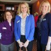 Tina Evans, Erin Engelke, Catherine Page-Creppon were at the luncheon event. (Photo by Helen Ford Wallace).