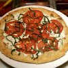 Photo - Pizza Margherita from Trattoria il Centro, which closes Saturday.  Steve Gooch - The Oklahoman