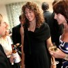 Michele Smith (center) talks with Nadia Comaneci and Bart Conner during a reception at the Jim Thorpe Museum and Oklahoma Sports Hall of Fame in Oklahoma City on Tuesday, August 3, 2010. Photo by John Clanton, The Oklahoman