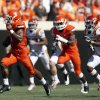Oklahoma State\'s Joseph Randle (1) rushes for 62 yards in fourth quarter during a college football game between Oklahoma State University (OSU) and Iowa State University (ISU) at Boone Pickens Stadium in Stillwater, Okla., Saturday, Oct. 20, 2012. Photo by Sarah Phipps, The Oklahoman