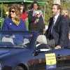 UCO President Don Bets and his wife Susanne wave to crowds during the University of Central Oklahoma\'s homecoming parade in Edmond, OK, Saturday, November 3, 2012, By Paul Hellstern, The Oklahoman