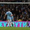 Photo - Sunderland's Connor Wickham, right, scores against Manchester City during the English Premier League soccer match between Manchester City and Sunderland at The Etihad Stadium, Manchester, England, Wednesday, April  16, 2014. (AP Photo/Rui Vieira)