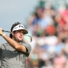 Photo - Bubba Watson of the US plays a shot on the 3rd fairway during the second day of the British Open Golf championship at the Royal Liverpool golf club, Hoylake, England, Friday July 18, 2014. (AP Photo/Scott Heppell)