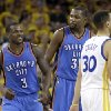 Kevin Durant explains why he cursed at Dion Waiters in Thunder-Warriors Game 2