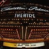 In this Nov. 19, 2012 photo, the marquee at the Cadillac Palace Theatre promotes the musical