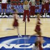 OU coach Sherri Coale watches her team during practice in Kansas City, Mo., on Saturday, March 27, 2010. The University of Oklahoma will play Notre Dame in the Sweet 16 round of the NCAA women\'s basketball tournament on Sunday. Photo by Bryan Terry, The Oklahoman