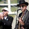 Billy Tilman (left) and Tom Lienke (right) perform during the Festival of the Arts in downtown Oklahoma City on Wednesday, April 22, 2009. Photo by John Clanton, The Oklahoman