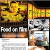 Food on film GRAPHIC with movie photos 1) Scene from the movie / film