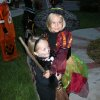 rylee & raegan reece are ready to trick or treat in Oak Tree Park, Edmond, Oklahoma Community Photo By: pia allen Submitted By: michael, edmond