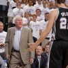 San Antonio coach Gregg Popovich shouts at San Antonio\'s Tiago Splitter (22) during Game 6 of the Western Conference Finals between the Oklahoma City Thunder and the San Antonio Spurs in the NBA playoffs at the Chesapeake Energy Arena in Oklahoma City, Wednesday, June 6, 2012. Oklahoma City won 107-99. Photo by Bryan Terry, The Oklahoman