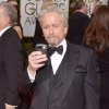 Michael Douglas arrives at the 71st annual Golden Globe Awards at the Beverly Hilton Hotel on Sunday, Jan. 12, 2014, in Beverly Hills, Calif. (Photo by John Shearer/Invision/AP)