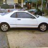 Lester Hobbs is thought to have fled in this white 1992 Toyota Paseo, which was owned by Tonya Hobbs. Photo provided