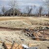 Damage to the Oak Tree golf course on Wednesday, Feb. 11, 2009, after a tornado hit the area on Tuesday in Edmond, Okla. PHOTO BY CHRIS LANDSBERGER, THE OKLAHOMAN