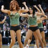 The Thunder Girls perform during the NBA basketball game between the Oklahoma City Thunder and the New York Knicks at the Ford Center in Oklahoma City, January 11, 2010. Photo by Nate Billings, The Oklahoman